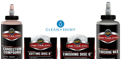 "Meguiars DA Microfiber 6"" Cutting and Finishing Kit"