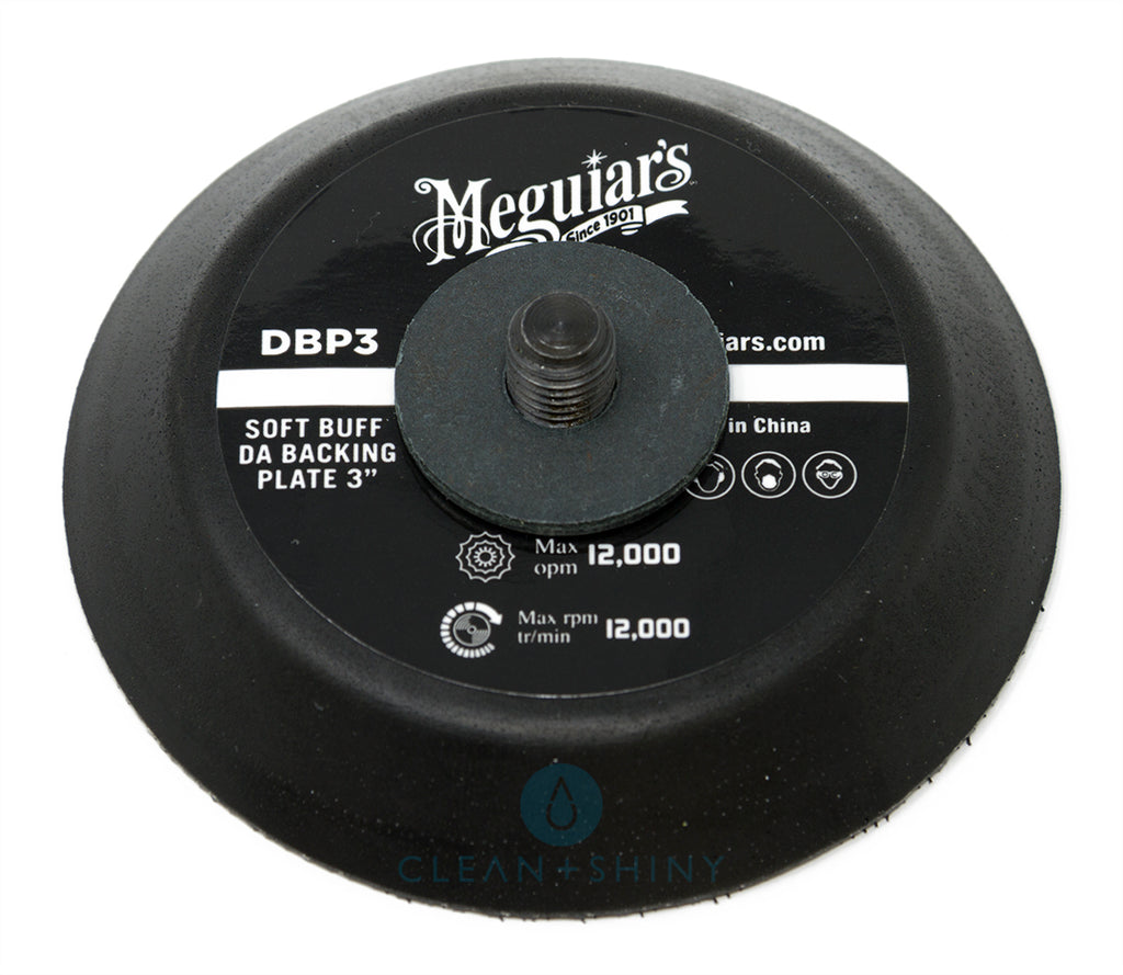 """Online Carpets Uk >> Meguiars 3"""" Soft Buff DA Backing Plate (DBP3) 