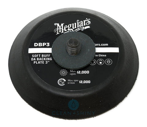 "Meguiars 3"" Soft Buff DA Backing Plate (DBP3)"