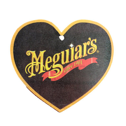 Meguiars Heart Air Freshener - Raspberry