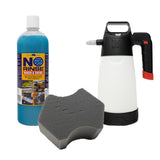 IK Sprayer Multi Pro 2 + Optimum No Rinse 946ml + The Rag Company Ultra Black Sponge Kit