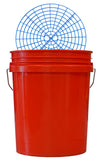 Clean and Shiny 5 Gallon Bucket and Grit Guard Kit (Various Colours)