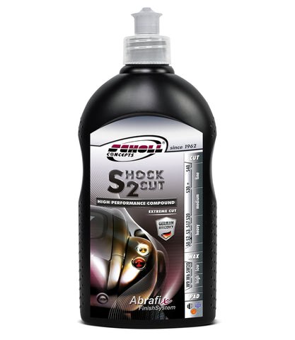 Scholl Concepts Shock 2 Cut Extreme Cutting Compound 500g