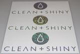 Clean and Shiny Silver Sequin Cut Vinyl Stickers - Various Sizes