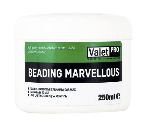 ValetPRO Beading Marvellous Wax 250ml