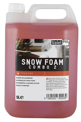 buy valetpro snow foam combo 5l from clean and shiny. Black Bedroom Furniture Sets. Home Design Ideas