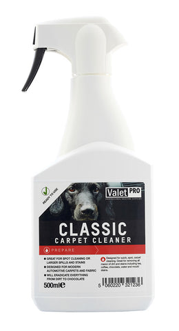 ValetPRO Classic Carpet Cleaner 500ml