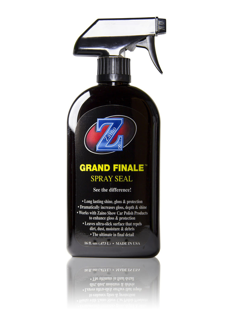 Zaino Z-8 Grand Finale Spray Sealant | Clean and Shiny – CleanandShiny