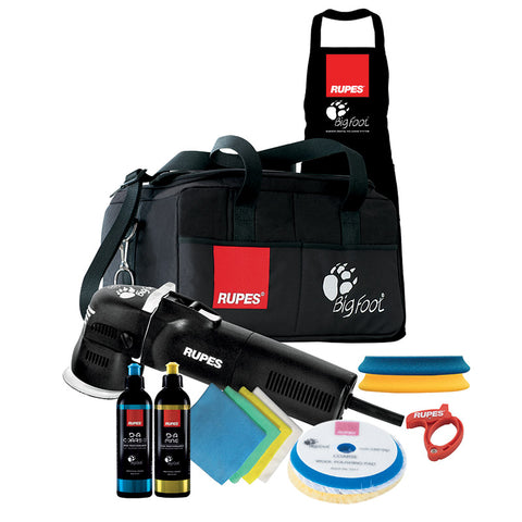 Rupes LHR75E (LHR75) Mini BIGFOOT Polisher (LUX) Kit