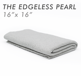 The Rag Company Pearl 16 x 16 Coatings & Interior Microfiber Towel - Ice Grey