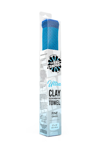 The Rag Company Ultra Clay Towel - Fine Grade - 10 x 10