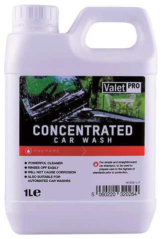 ValetPRO Concentrated Car Wash Shampoo 1 Litre