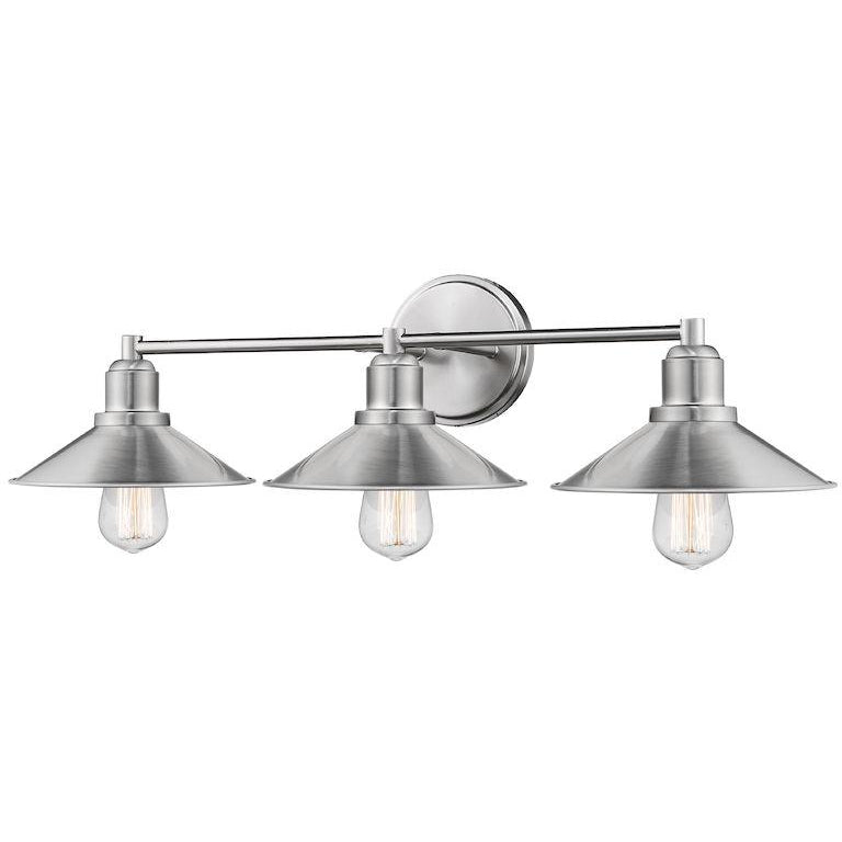 Casa 3-Light Vanity Light | Brushed Nickel