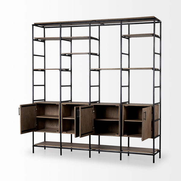 Dario Multi-Shelf Shelving Unit