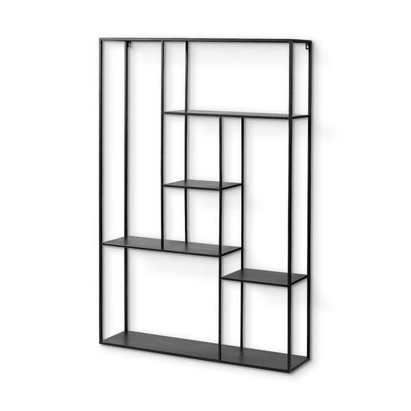 Declan Wall Hanging Multi-Level Metal Shelf