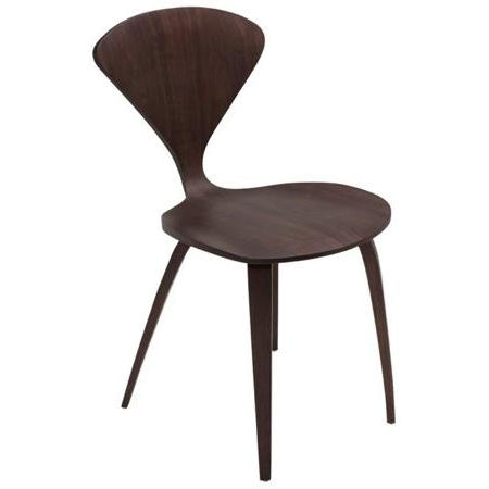 Satine Dark Walnut Dining Chair
