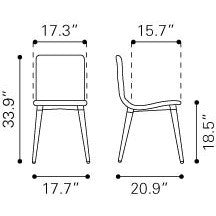 Jericho Dining Chair (Set of 2)
