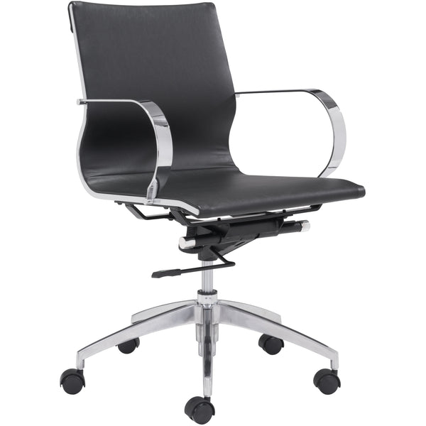 Glider Office Chair | Low Back