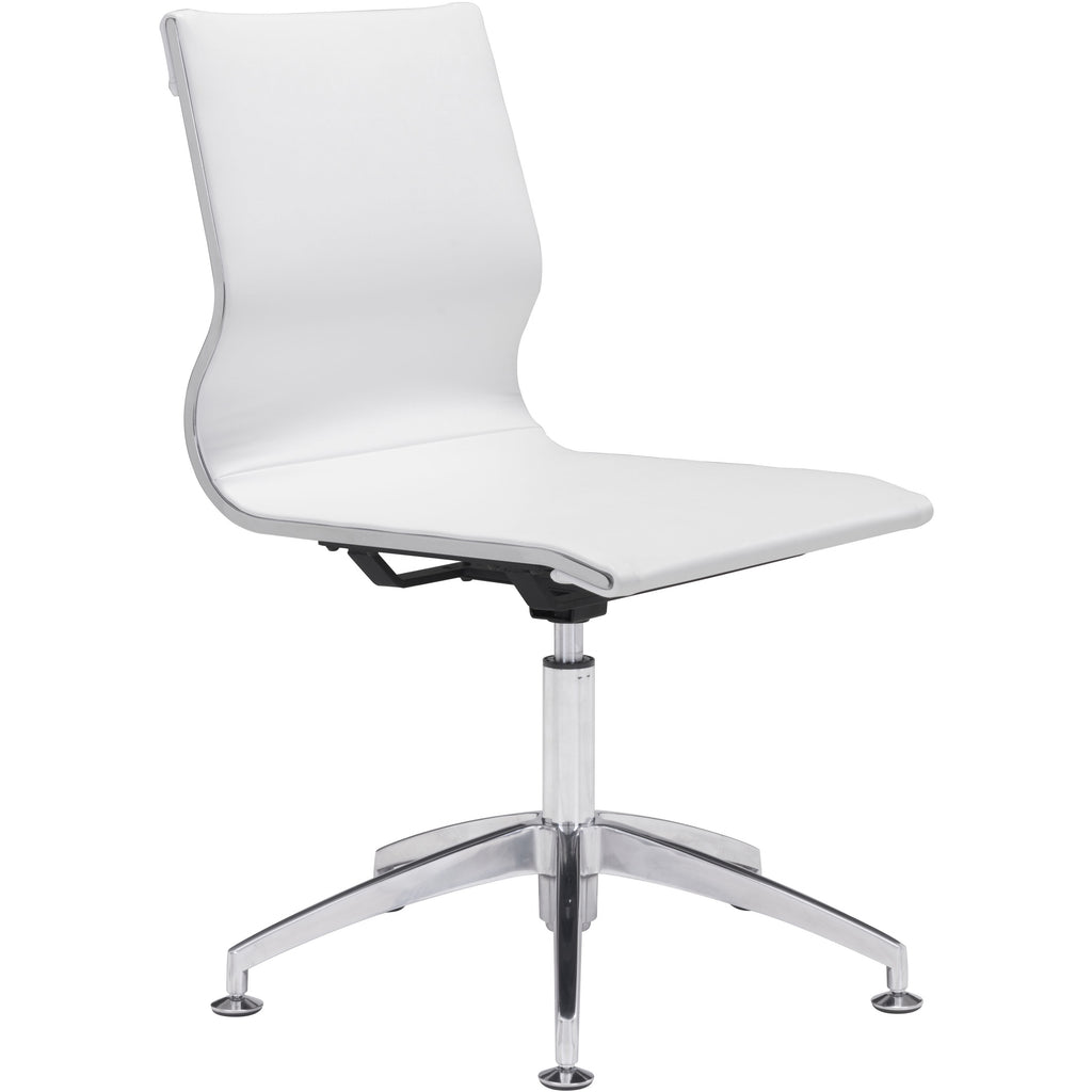 Glider Office Chair | Armless