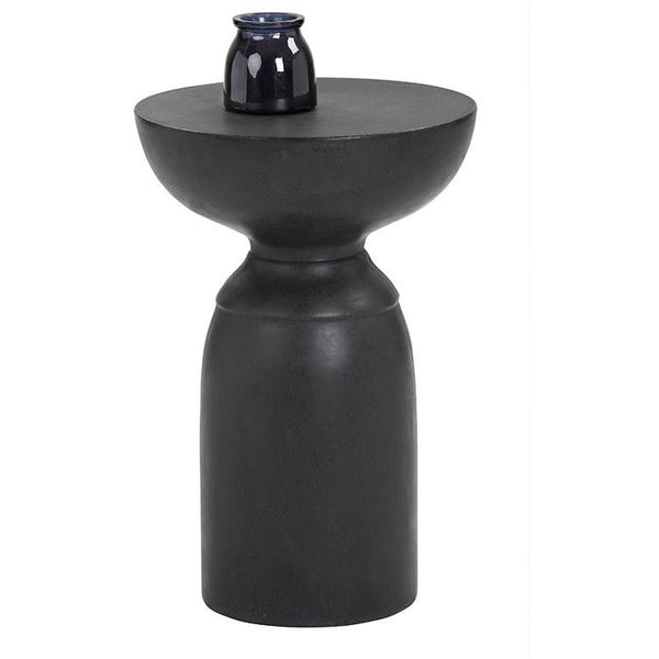 Gahan Outdoor End Table | Black