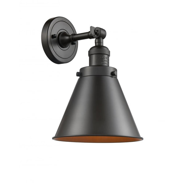 Appalachian Semi Flush Mount/Wall Sconces | Oil Rubbed Bronze