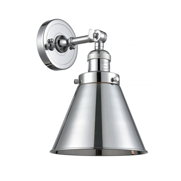 Appalachian Semi Flush Mount/Wall Sconce | Polished Chrome