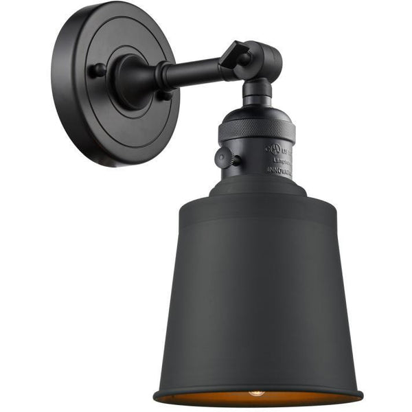 Addison Wall Sconce/Flush Mount | Matte Black
