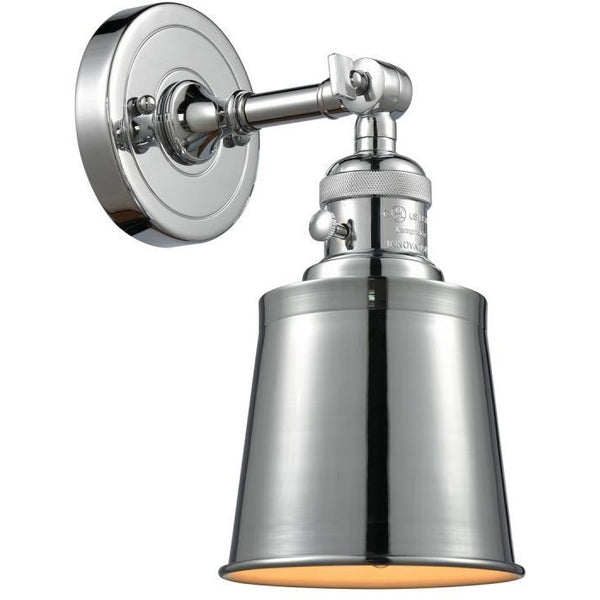 Addison Wall Sconce/Flush Mount | Polished Chrome