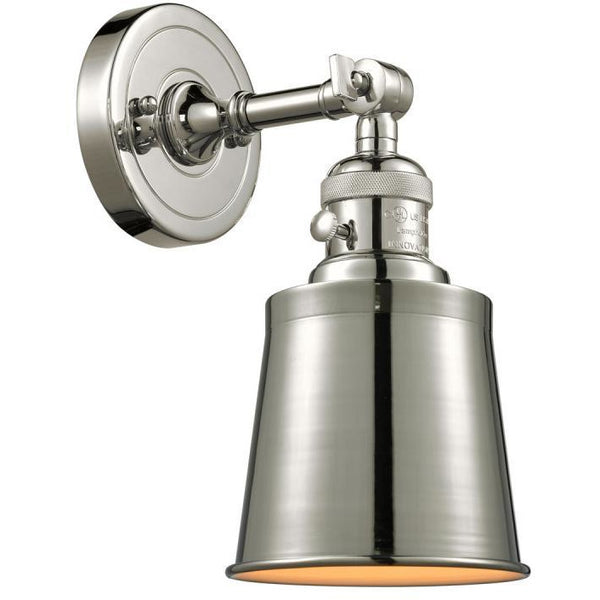 Addison Wall Sconce/Flush Mount | Polished Nickel