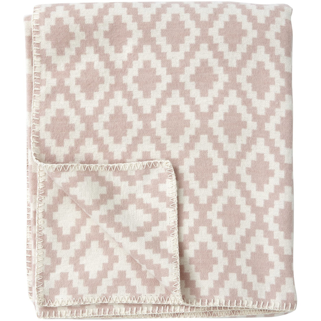 Diamond Blanket Pink
