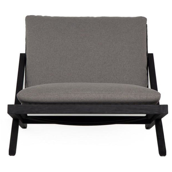 Bali Outdoor Lounge Chair | Charcoal Gracebay Grey