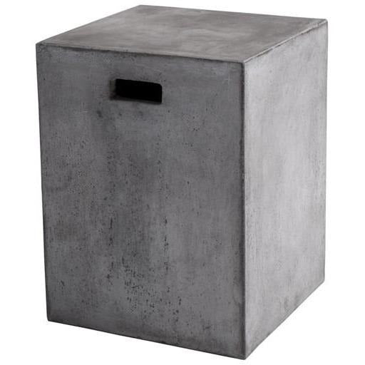 Cayman Outdoor End Table | Grey