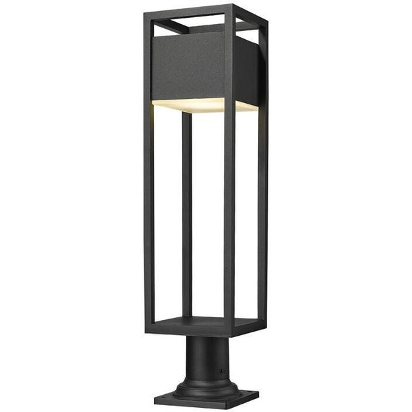 Barwick LED Pier Mounted Outdoor Lantern | Large