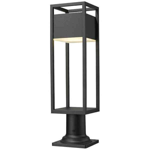 Barwick LED Pier Mounted Outdoor Lantern | Small