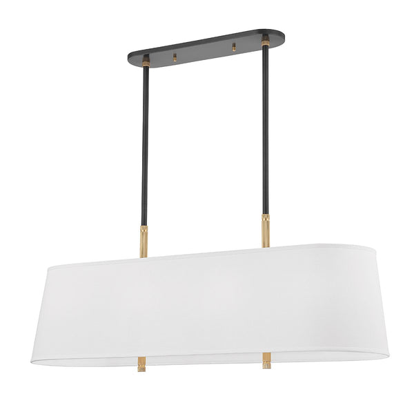 Bowery Linear Pendant | Old Bronze