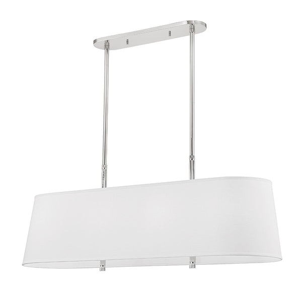 Bowery Linear Pendant | Polished Nickel