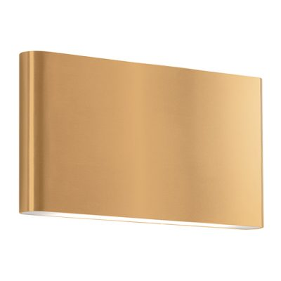 Slate LED Outdoor Wall Sconce | Gold (LG)