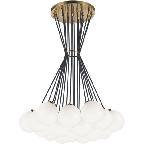 Bougie 19-Light Pendant