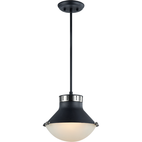 Notting 2-Light Pendant | Nickel