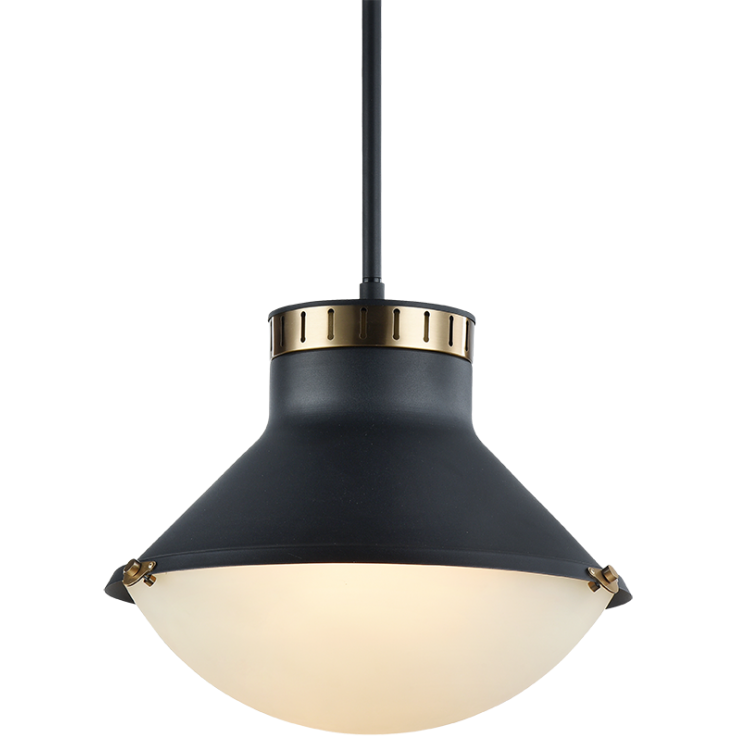 Notting 3-Light Pendant | Aged Gold