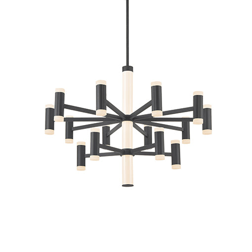 Brazen LED Chandelier | Black (LG)