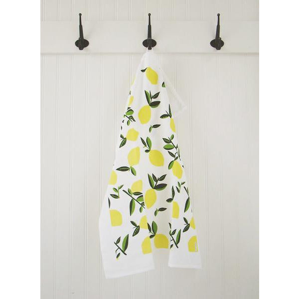 Tea Towel | Citrus Lemon