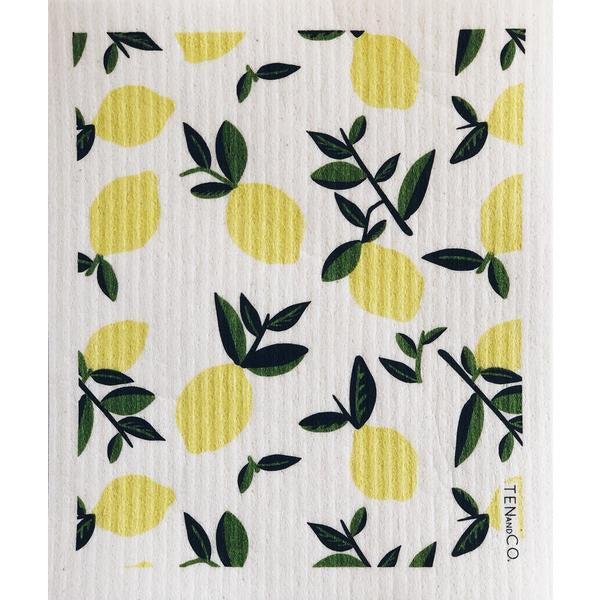 Sponge Cloth | Citrus Lemon (Set of 2)
