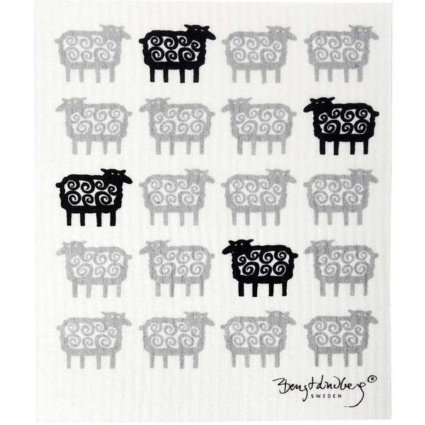Sponge Cloth | Black Sheep (Set of 2)