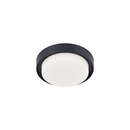 Bailey LED Flush Mount | Black (SM)