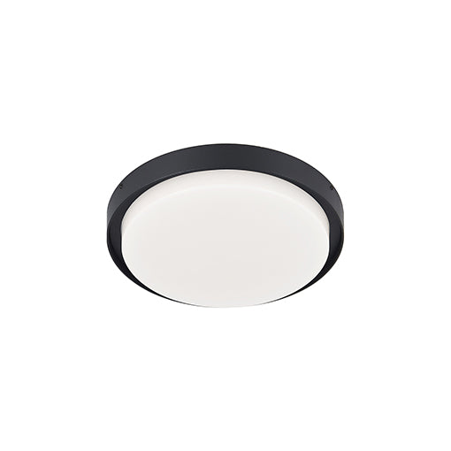 Bailey LED Flush Mount | Black (MED)