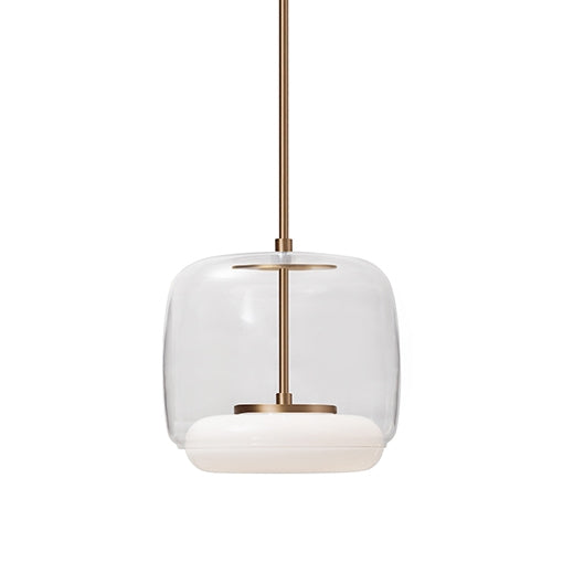 Enkel LED Pendant (Small) | Vintage Brass