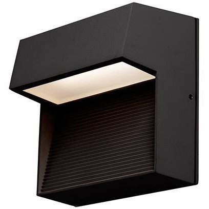Byron LED Wall Sconce (SQ) | Black