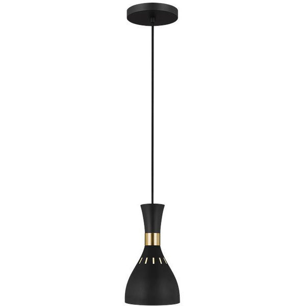 Joan Mini Pendant | Midnight Black