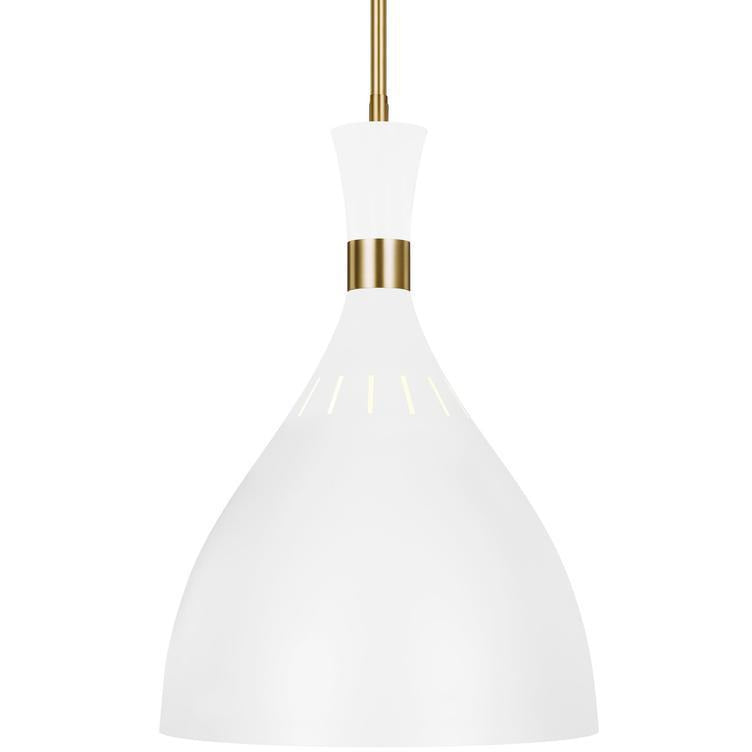 Joan Large Pendant | White